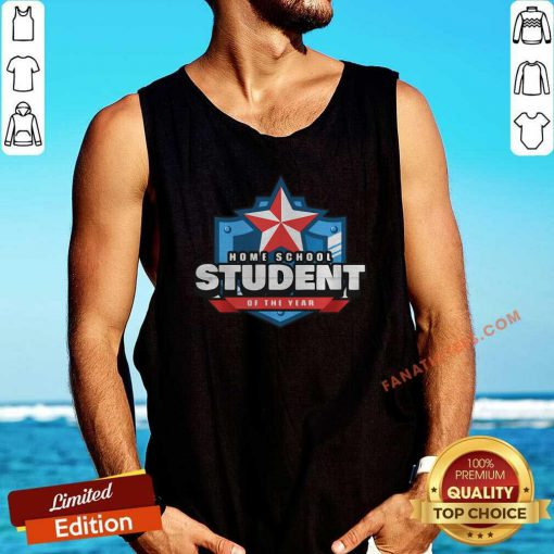 Home School Student Of The Year Online Learning Tank Top-Design By Fanatictees.com