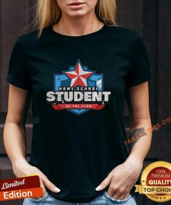 Home School Student Of The Year Online Learning V-neck-Design By Fanatictees.com