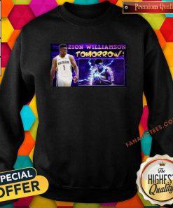 Zion Williamson Tomorrow Sweatshirt