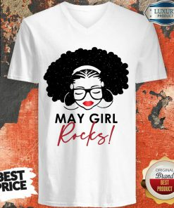Original May Girl Rocks V-neck