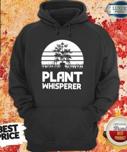 Top Cannabis Plant Whisperer Hoodie