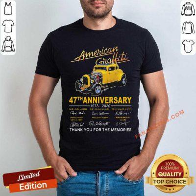 American Graffiti 47th Anniversary Shirt