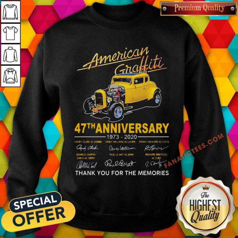 American Graffiti 47th Anniversary SweatShirt