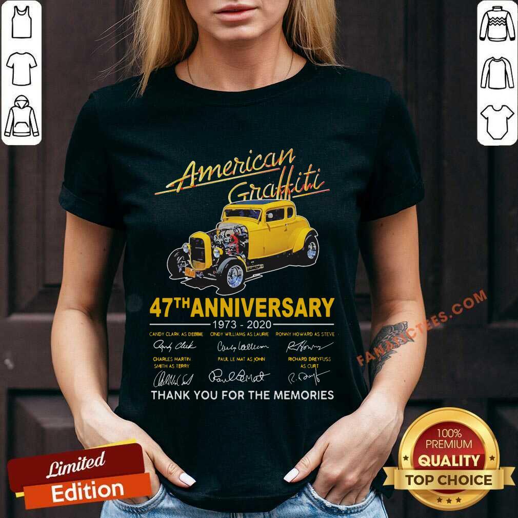 American Graffiti 47th Anniversary V-neck