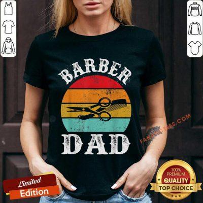 Barber Dad V-neck