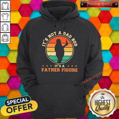 It's Not A Dad Bod It'S A Father Figure Vintage Hoodie