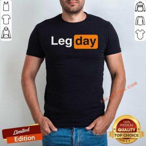 Awesome Leg Day Logo Shirt