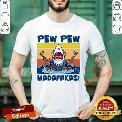 Shark Pewpew Vintage Shirt