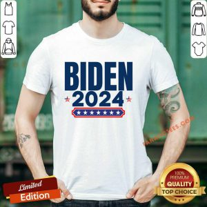 Biden 2024 Stars And Stripes Red White And Blue Shirt
