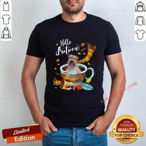 Hello Autumn Wheaten Terrier Shirt