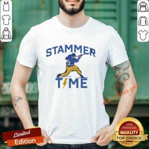 Hot Stammer Time Hockey Shirt