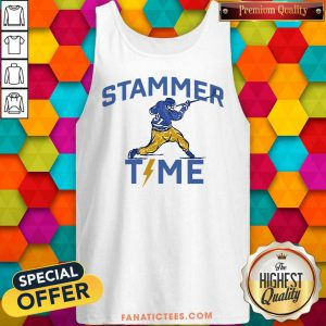 Hot Stammer Time Hockey Tank Top