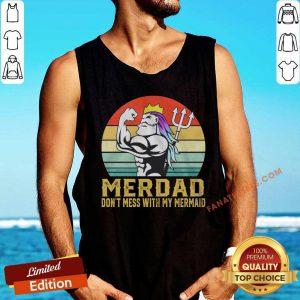 Merdad Don't Mess With My Mermaid Vintage Tank Top