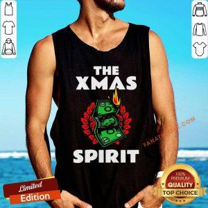 The Xmas Spirit Money Christmas Tank Top